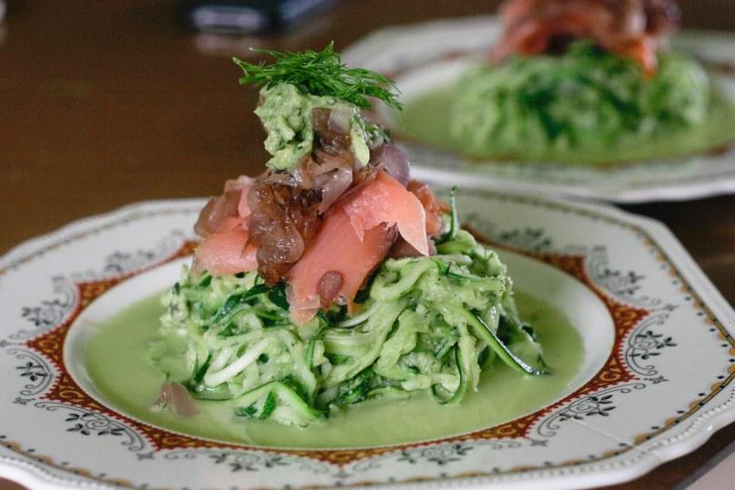 zucchinipasta